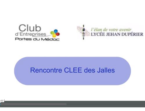 CLEE – Partenariat Lycée Dupérier